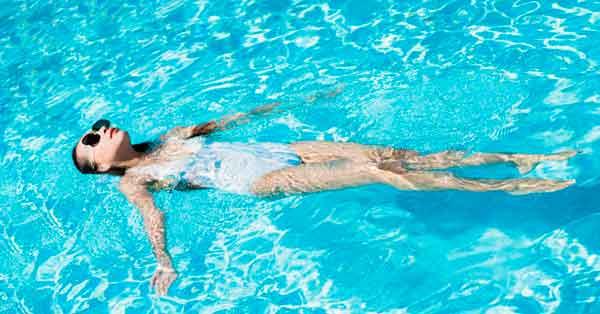 Backstroke Swimming
